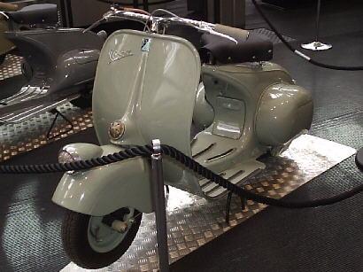 storia vespa dal 1943 al 1953 » vespa servizio   scooter piaggio d