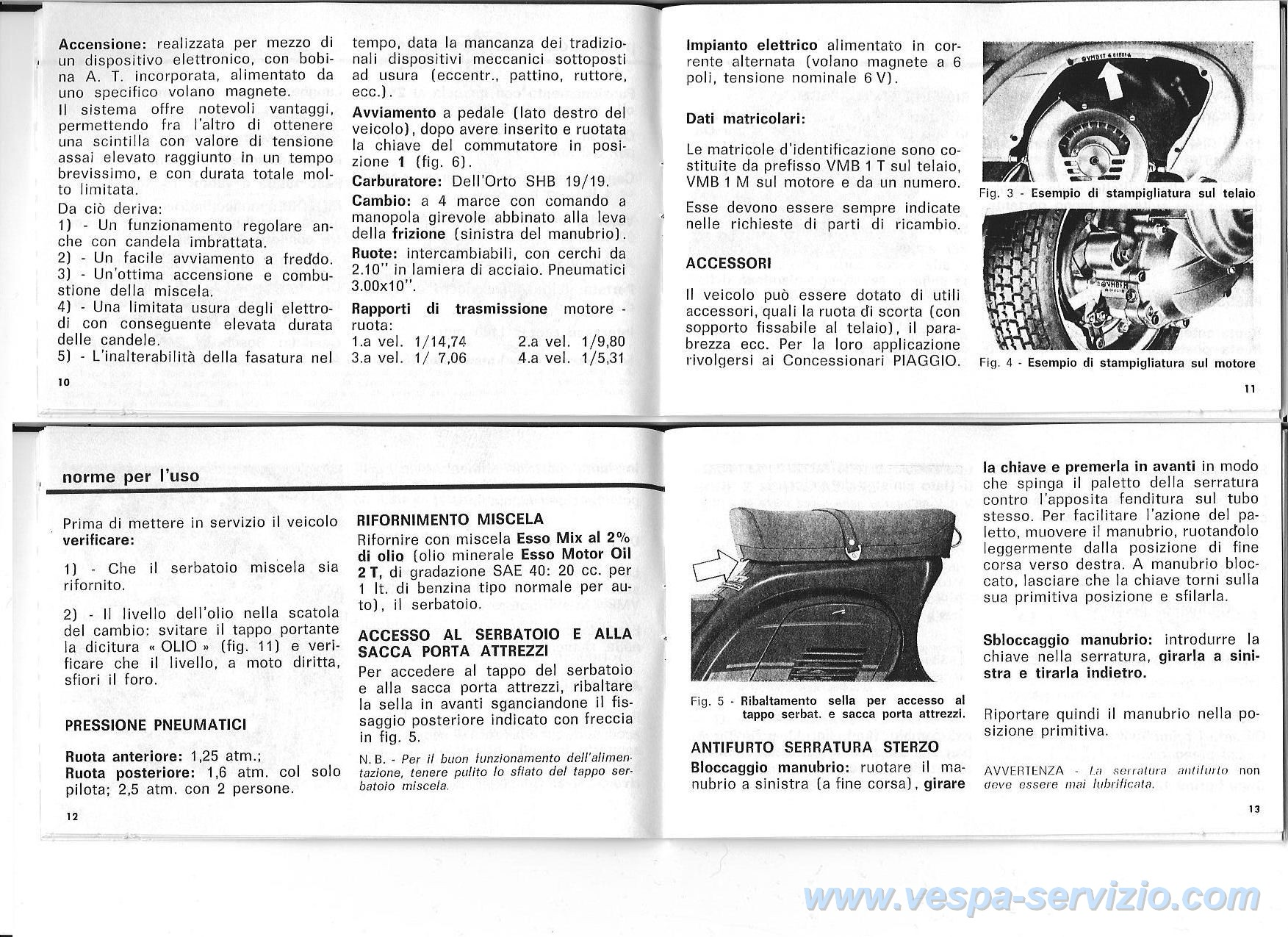 manuale d uso e manutenzione vespa 125 et3 e primavera adatto anche rh vespa servizio com