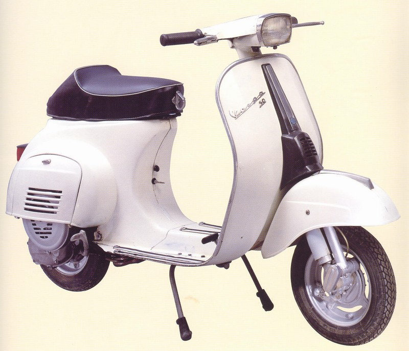 storia vespa dal 1964 al 1973 vespa servizio scooter. Black Bedroom Furniture Sets. Home Design Ideas