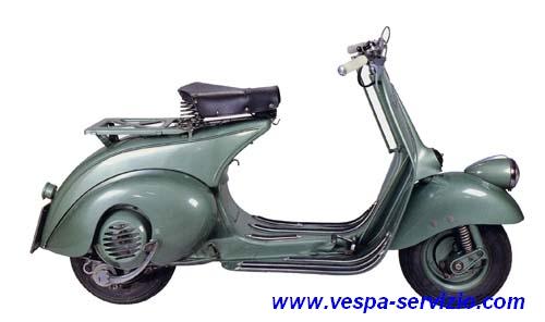 vespa 125 bacchetta V1T 1948-1949