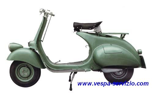 Vespa 125 Bacchetta 1950 (V15T)