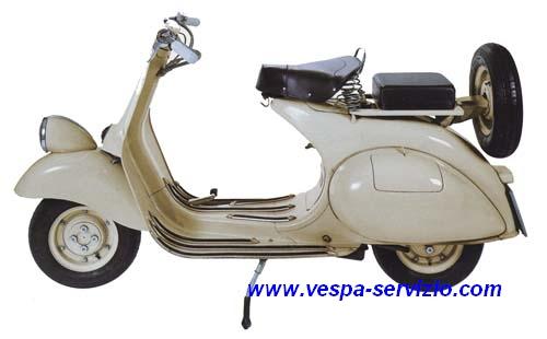 Vespa 125 1952-1953 (VM1T)