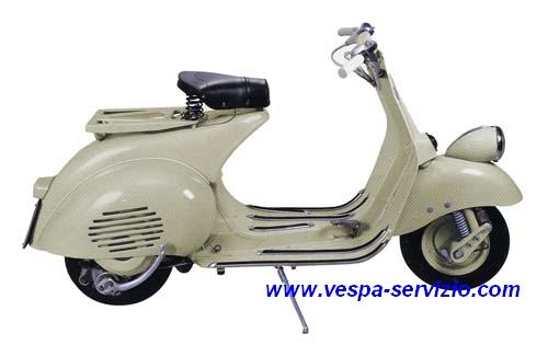 Vespa 125 (VN1T) 1954/55