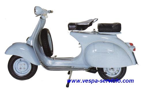 Vespa 125 2% VNB 1T-2T-3T-4T-5T (1959-64)
