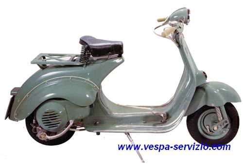Vespa 125 U (VU1T) 1953