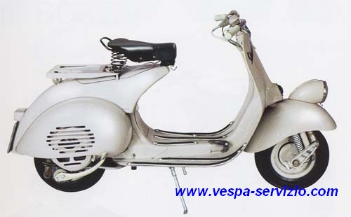 VESPA 125 VN2T 1956-1957