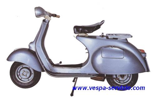 Vespa 150 2% VBA1T 1958-1959-1960