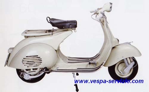 VESPA 150 (VL2T-VL3T) 1955-1956-1957