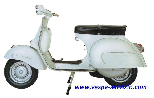 Vespa 160 GS VSB1T 1962-1963-1964