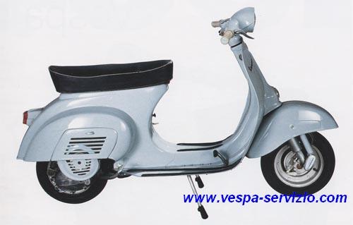 VESPA 50 N (V5A1T) 1963-1964