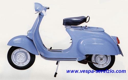 VESPA 90 (V9A1T) 1963-1964-1965-1966-1967